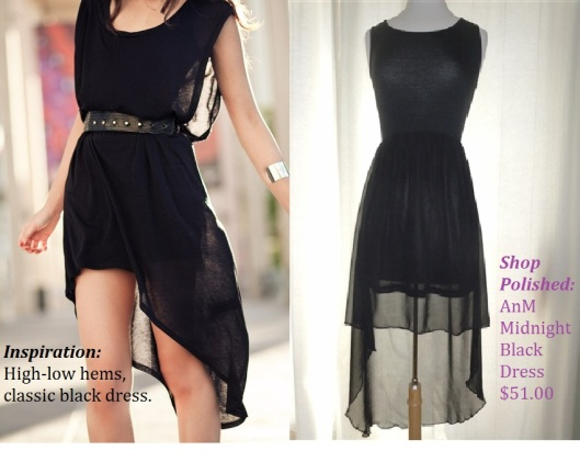 AnM Midnight Black Dress